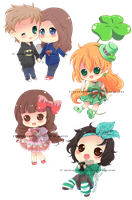more chibis :) by runawaywithyou