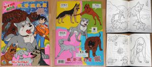 Ginga Nagareboshi Gin Coloring Book by Satsuma1
