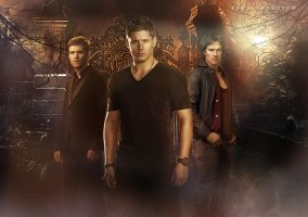 multifandom(TVD,TO and SPN) by ektapinki