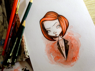 X-Files Revival - Dana Scully by willymerry