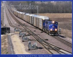 Passing the Torch at CP Peck by classictrains