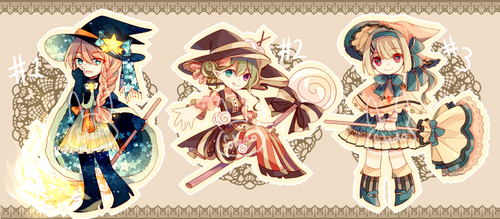 Witch Adopts [AUCTION ENDED] by Soilado