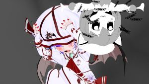 Remilia Suffers The Honking by Primantis