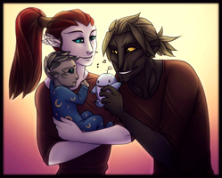 If sylvari could have children by Juriia