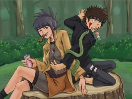 Commission: Anko and Kiba by The-Z
