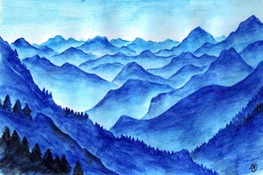 Blue Mountains by MatejCadil