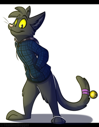 Hoodie Cat [CM] by TheEnthusiasticWolf