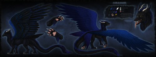 Siranor Reference Sheet by Sidonie
