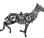 Steam Horse Gif by atisuto17