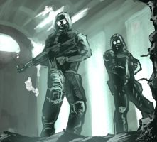 S.T.A.L.K.E.R Team by NZrommel