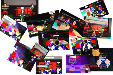 [Roblox] Pictures of Party with the guys (lol) by Chimera-suzy