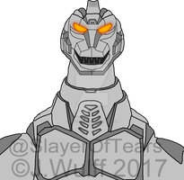 Heisei MechaGodzilla by SlayerOfTears