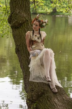 Stock - Steampunk Fairy 3 by S-T-A-R-gazer