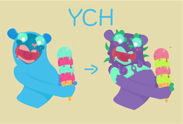 YCH Ice Cream [Open] by twilight-dweller
