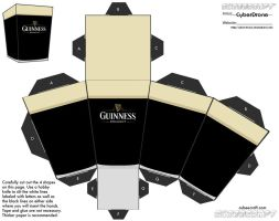 Cubee - Guinness by CyberDrone
