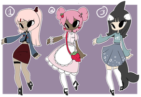 misc adopts 4 [OPEN 1/3] by ikisosou