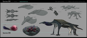 Creature Specimen 000 [owned by Forgess] by Sarspax