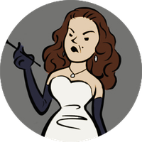Mlle Blanche de Glace Icon by Nomad1995
