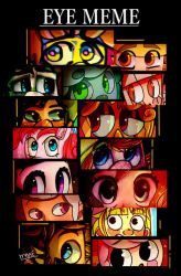 Eye Meme by mariogamesandenemies