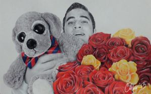 Will You... (Klaine Proposal Drawing 1) by Live4ArtInLA
