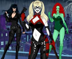 DC Ladies by shedvil1985