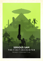 Serious Sam TFE Minimalistic Poster by FreekNik