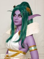 Tyrande, Love Goddess by AmazingRogue
