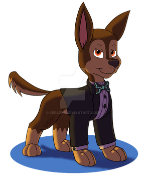 Chase In Tux Ver. 2 by kreazea