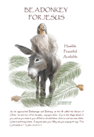 Be A Donkey For Jesus by morethansparrows