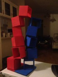 Tension, Red v Blue by Red--Vs--Blue