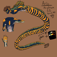 Arlo  ref sheet by sdd-sketches