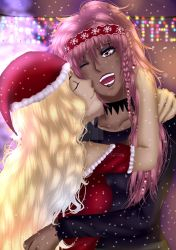 Merry Xmas-Mea and Layla (Oc by Lollipop) by RinUchihaa