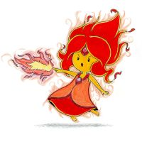 Flame Princess by emiliosan