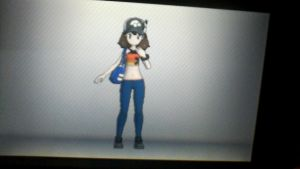 My pokemon x trainer look by BluethornWolf