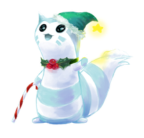 Snowmon named Furret \ Charity by katagro