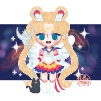 Eternal Sailor Moon by Nowii