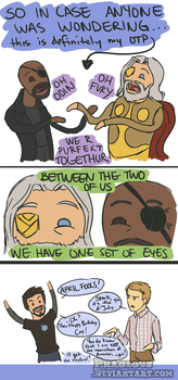 Avengers: Crack pairing by Phageous