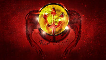 Red Devils Wall paper by standard2