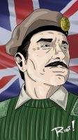 Brigadier Sir Alistair Gordon Lethbridge-Stewart by JamesRiot