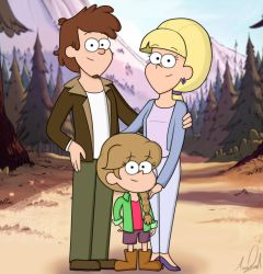 Pines Family by TurquoiseGirl35