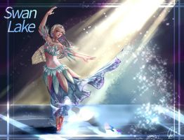 Swan Lake Barbie by CatFace2405