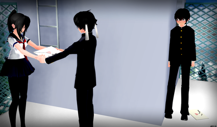 [MMD] Love Letter by Sofy-14