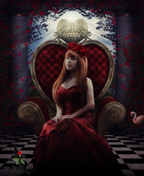 The Red Queen by xXAimeeRoseXx