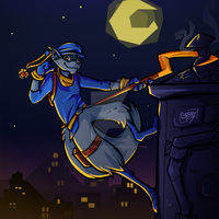 Another Sly Cooper by ArkySparkyArtworks