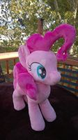 Pinkie Pie plush (sold) by BubbleButtPlush