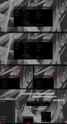 Pure Black Glass Red V2 Theme Win10 April 2018 by Cleodesktop