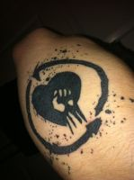 Rise Against Tattoo by Ad4m-k