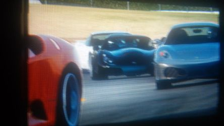 TVR Sagaris New Paint 1st Race by Horselover2471226