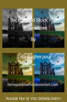 Castle Background Stock Pack 2 by FairieGoodMother