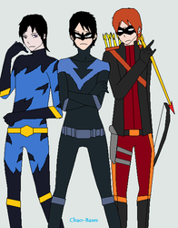The Titans (Not more Teen) Debuts by CamiloSama